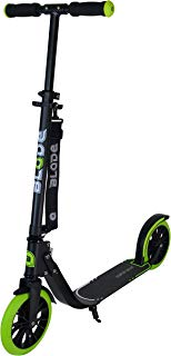 Blade Scooter for Adults 205mm Big PU Wheels Foldable Adjustable Height City Campus Commuter Kick Scooter Support 265 lbs Suitable for Age 8 Up Kids/Adults