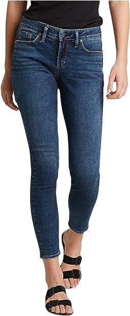 Suki Mid-Rise Curvy Fit Skinny Jeans L93136SDB376