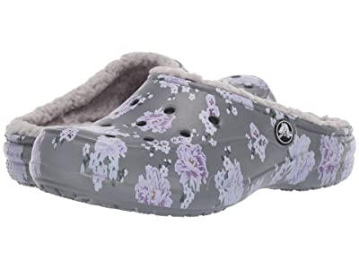 Crocs Freesail Printed Lined Clog (Floral/Pearl White) Women