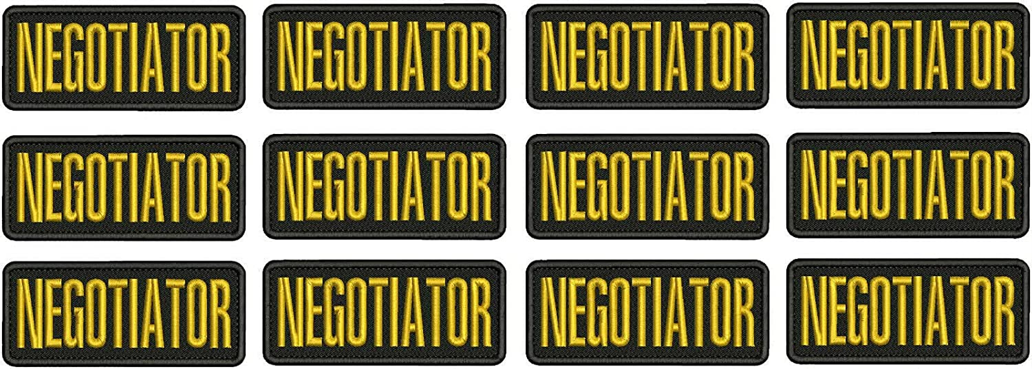 Embroidered Patch Sales for sale - Patches Negotiator Women Ranking TOP2 Man