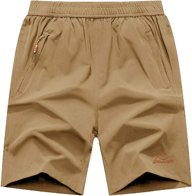 Rdruko Men's Quick Dry Hiking Workout Running Lightweight NEW before Elegant selling ☆ Shorts