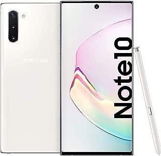Samsung Galaxy Note 10 Dual SIM - 256GB, 8GB RAM, Dual SIM, Aura White, UAE Version
