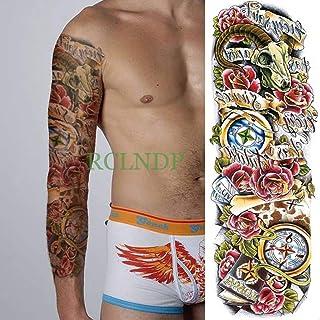 tzxdbh 5Pcs-Etiqueta engomada del Tatuaje a Prueba de Agua Taro ...