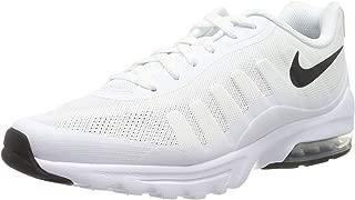 Men's Air Max Invigor Print Running Shoe, White/Black, 7.5 D(M) US