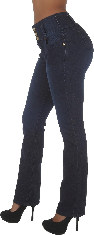 Plus/Junior Size Colombian Design Butt Lift High Waist Boot Leg Jeans