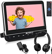 PUMPKIN 10.1 inch Headrest Car DVD Player with Headphone Support HDMI, 1080P Video, Sync Screen, AV in/Out, Region Free, U...
