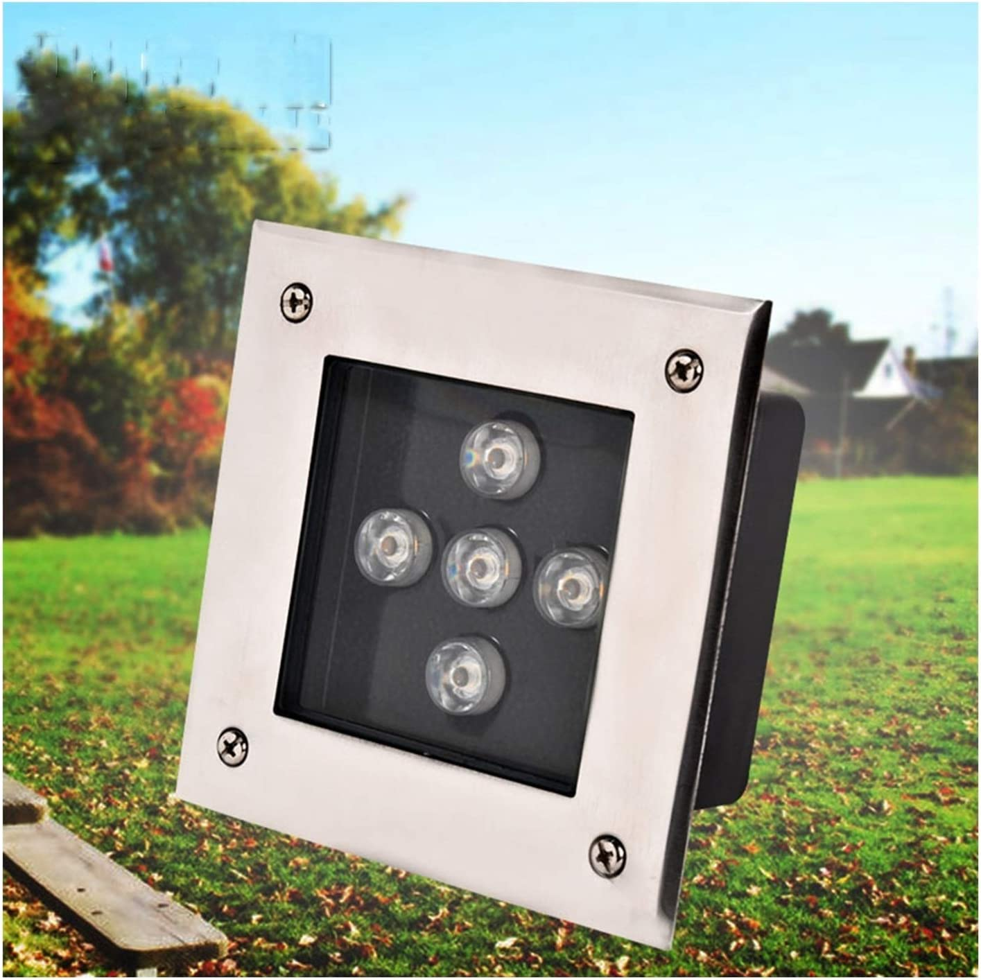 Fixed price for sale ZWYSL Buried Lights Embedded Inground Led Square High quality Floo