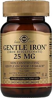 Solgar Gentle Iron 25mg, 90 Vegetable Capsules