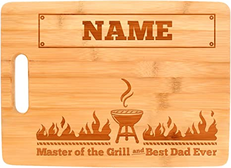 Custom Engraved Cutting Board dad gift Father/'s Day gift bbq cutting personalized father/'s day gift Barbecue board the godfather