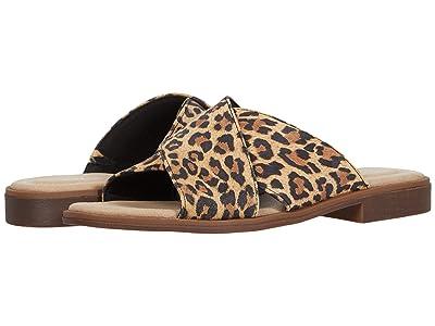 Clarks Declan Ivy (Tan Leopard Suede) Women