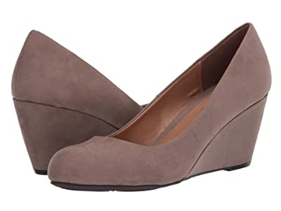CL By Laundry Nima (Dark Taupe Super Suede) Women
