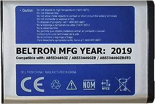 New 1000 mAh BELTRON Replacement Battery for Samsung U310 U340 U350 U410 U430 Verizon Wireless Flip Phone (AB553446GZ AB553446GZB AB553446GZBSTD)