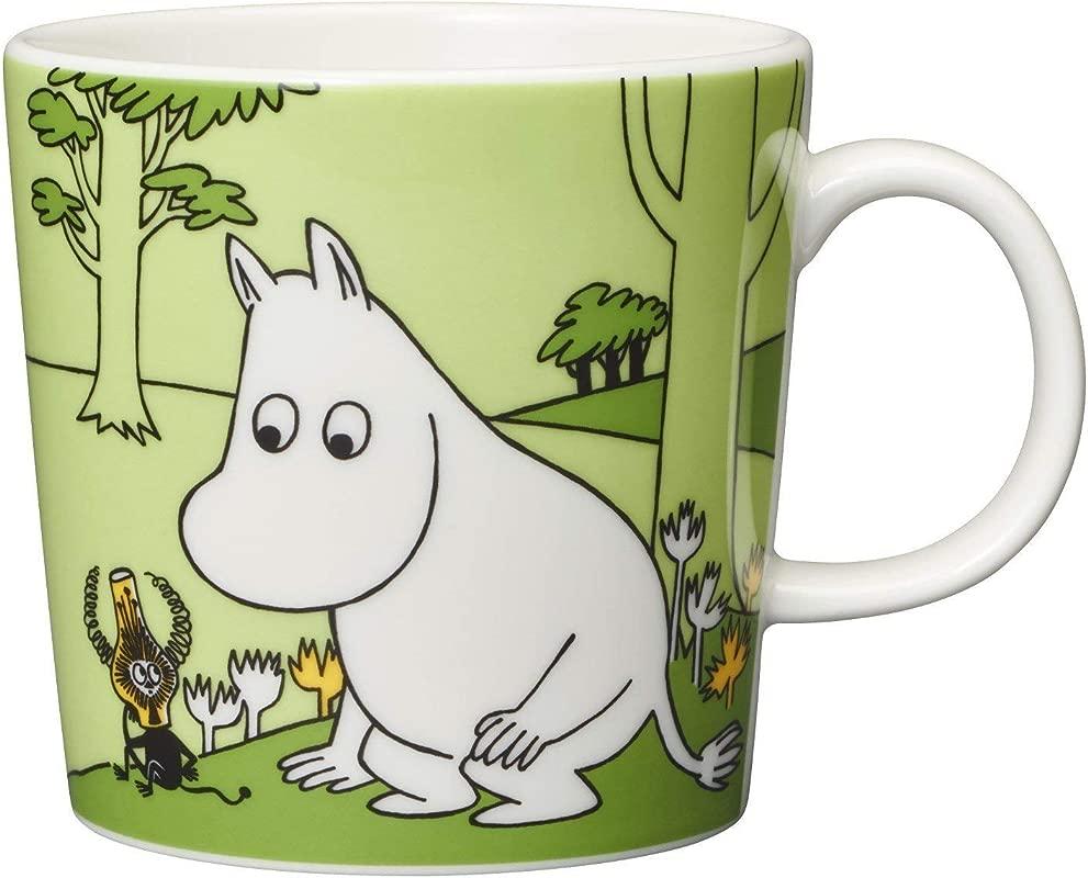 Arabia Moomin Mug Moomintroll Green 2019