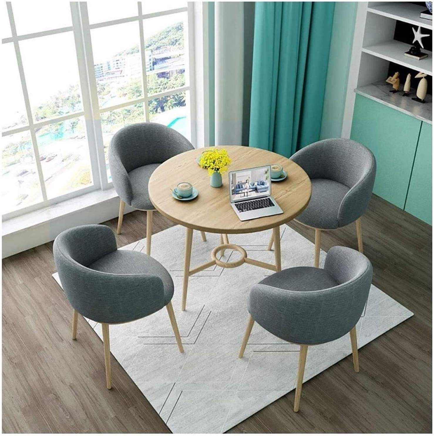 BUYT Arlington Mall Ranking TOP7 Office Reception Room Club Coffee Chair Set Table and