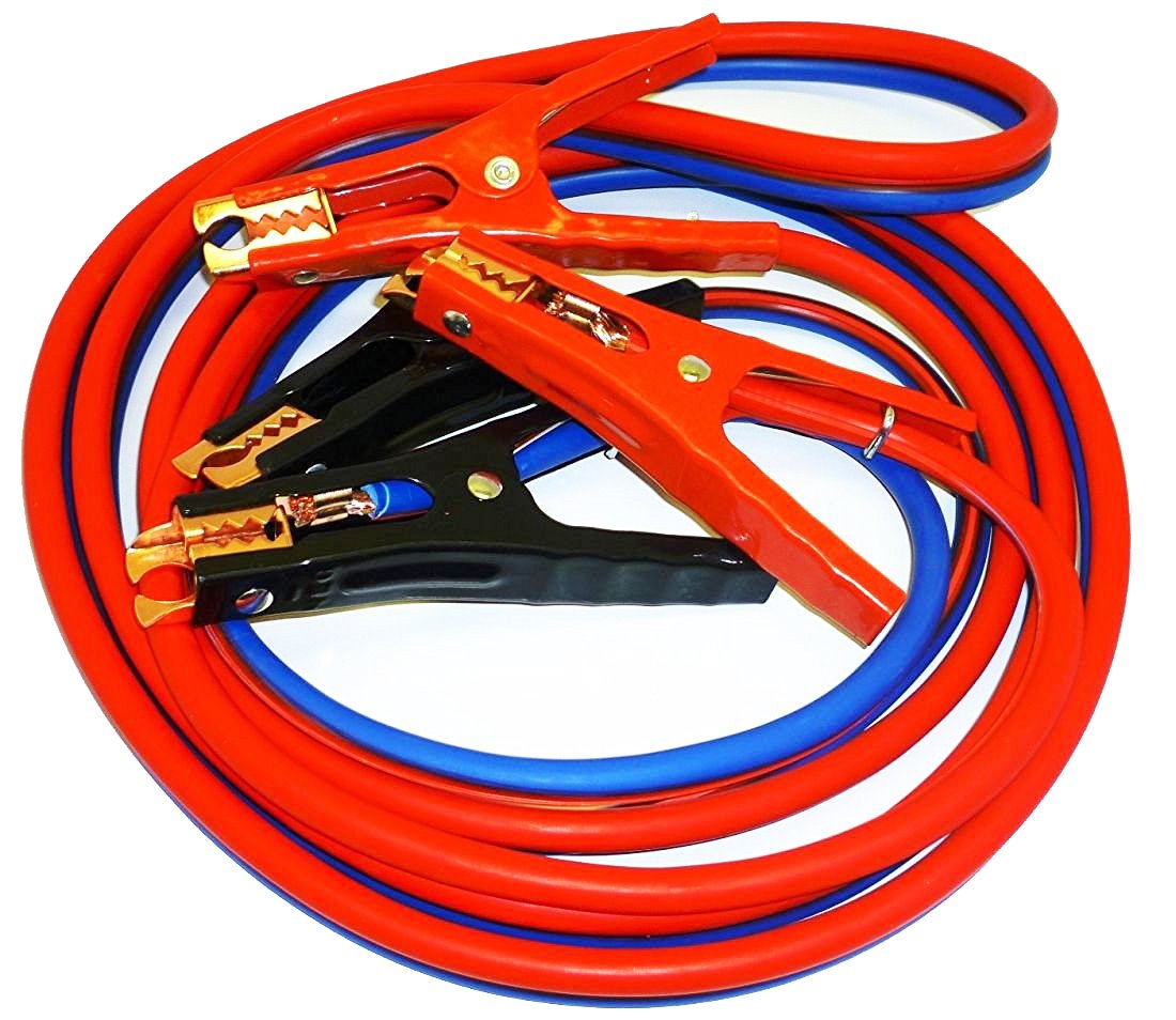 Tangle Battery Booster cables travel