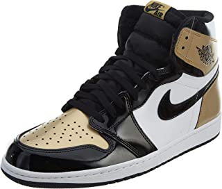 nike air jordan retro 1 gold toe