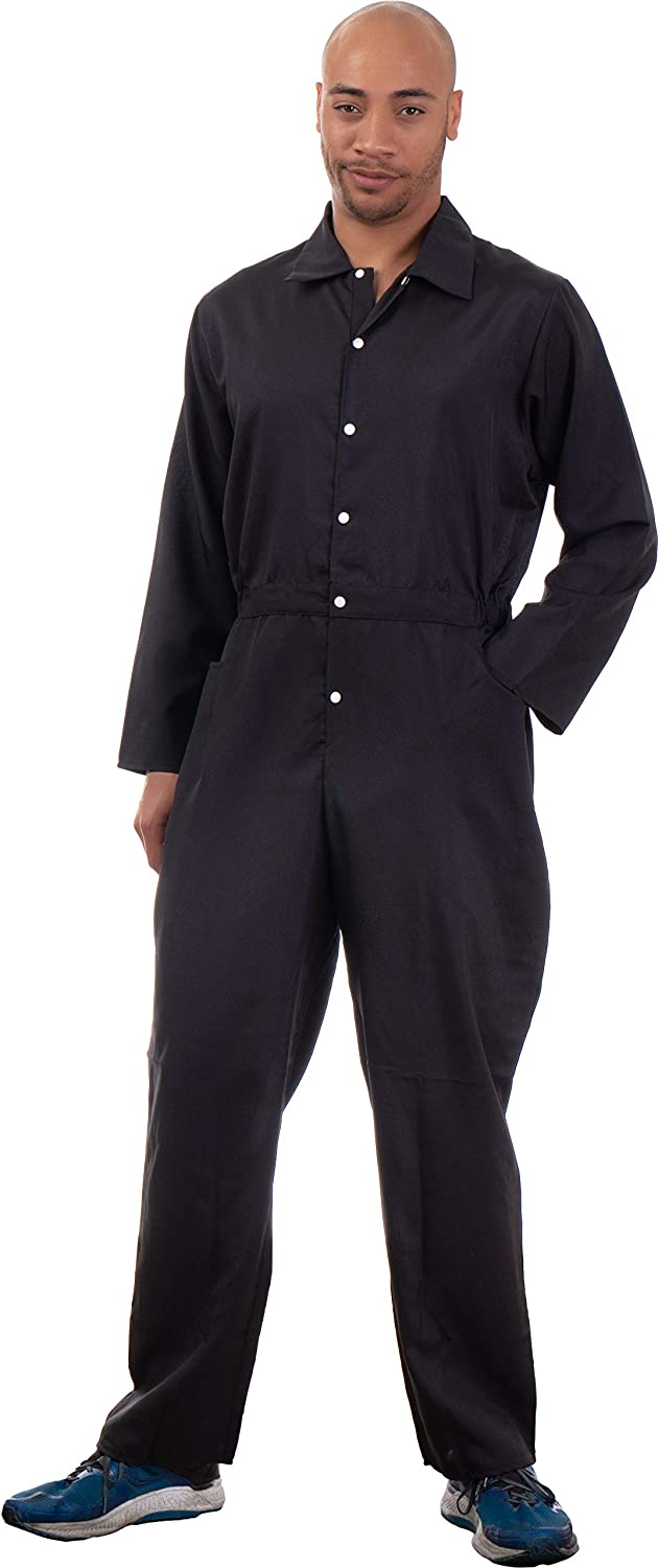 Black Jumpsuit Costume Special Very popular! price for a limited time Cosplay Flight Jump Suit Unis Halloween