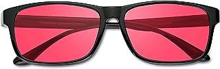 Colour Blindbril PILESTONE TP-037 (Type D) Kleurgordijn corrigerende bril voor rood groen - voor sterk, ernstig protan (rood)