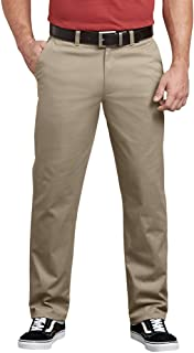 Dickies Men's Flex Active Waist Washed Chino Pant-Regular Taper Fit