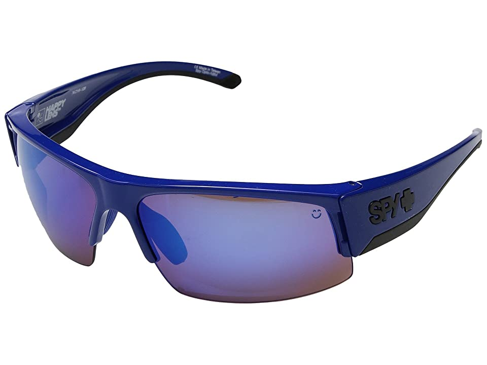 Spy Optic Flyer (Royal Blue/Happy Bronze w/ Dark Blue Spectra) Fashion Sunglasses