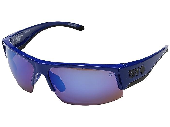 Spy Optic Flyer (Royal Blue/Happy Bronze w/ Dark Blue Spectra) Fashion Sunglasses