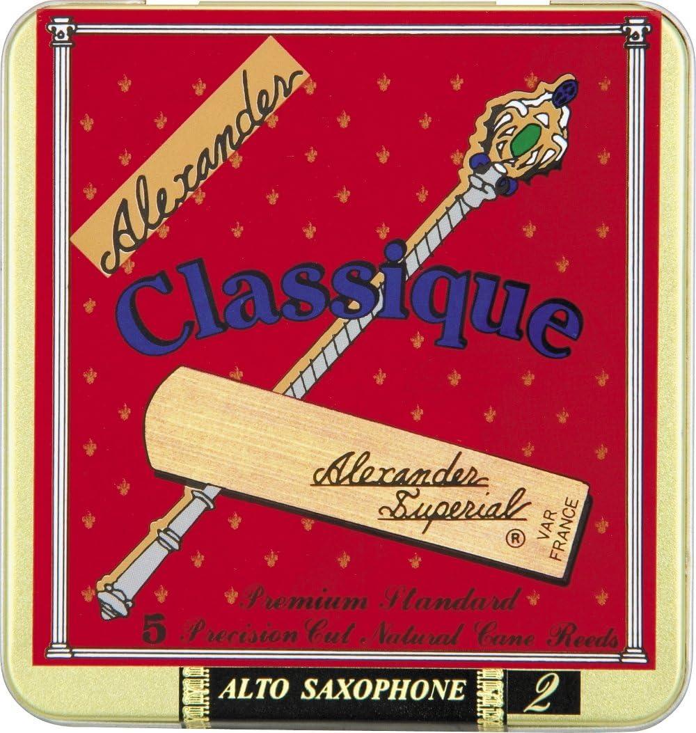 Alexander Reeds Classique Alto Strength Saxophone New York Mall 3.5 Boston Mall