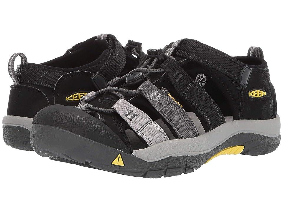 Keen Kids Newport H2 (Little Kid/Big Kid) (Black/Magnet) Boys Shoes