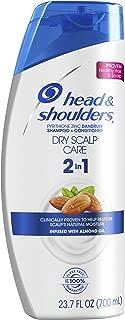 Head and Shoulders Dry Scalp Care Anti-Dandruff 2 in 1 Shampoo & Conditioner, 23.7 fl oz