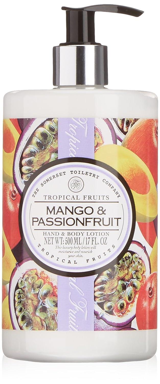 バーター移行症候群Tropical Fruits Mango & Passionfruit Hand & Body Lotion 500ml