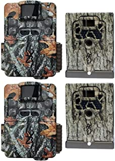 Browning Trail Cameras Strike Force Pro XD Dual Lens 24MP Game Camera (2-Pack) Bundled with Two Security Boxes (4 Items)