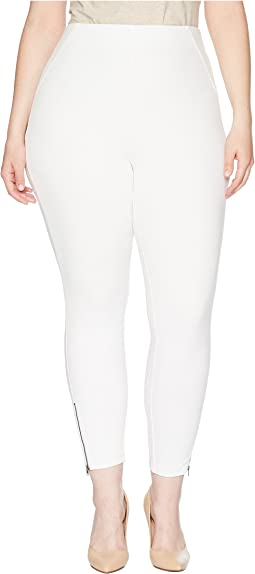 Plus Size Ankle Zip Simply Stretch Skimmer