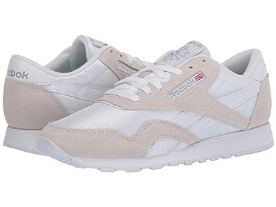 Reebok Lifestyle Classic Nylon (White/Light Grey/None) Men