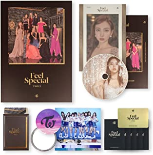 TWICE 8th Mini Album - FEEL SPECIAL [ C ver. ] CD + Photobook + Lyrics Paper + Photocards + OFFICIAL PHOTOCARD SET + OFFICIAL POSTER + FREE GIFT
