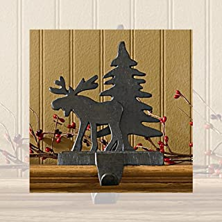 Park Designs Moose and Tree Stocking Hanger