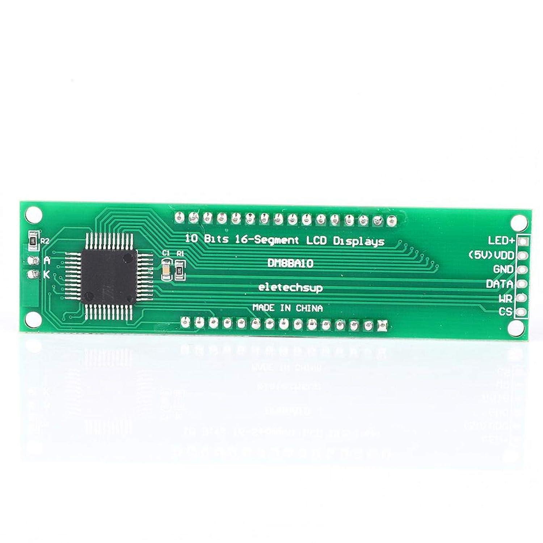 LCD Display Board Module 10-Bit Digital Ranking TOP5 T Ranking TOP14 16-Segment DM8BA10