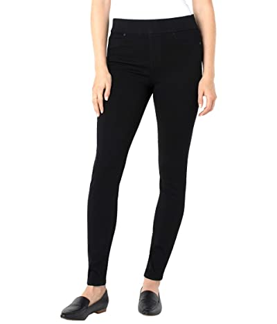 Liverpool Sienna Skinny Jean Leggings in Black Rinse (Black Rinse) Women