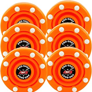 IDS 6 Pack of Roller Hockey Puck Pro Shot