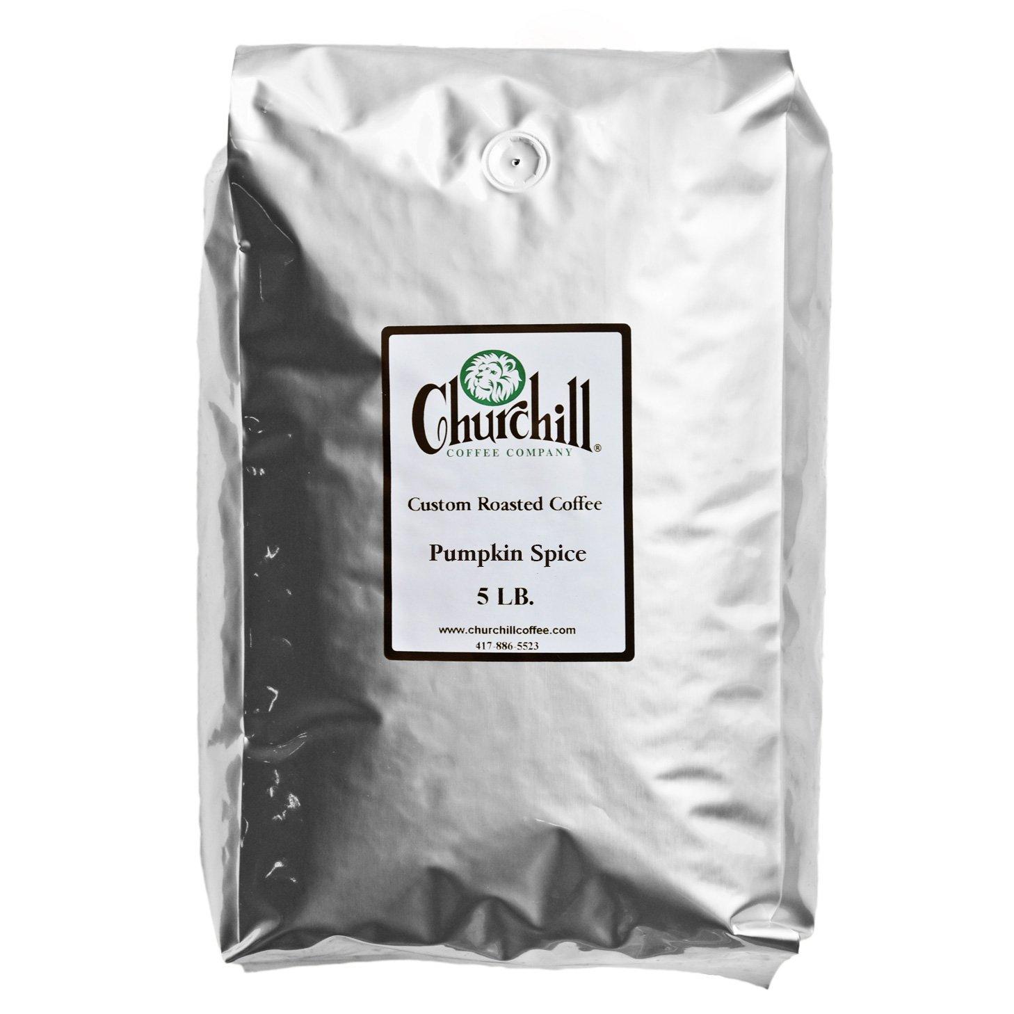Churchill Coffee Pumpkin Spice lb Ground 5 Denver Max 72% OFF Mall -