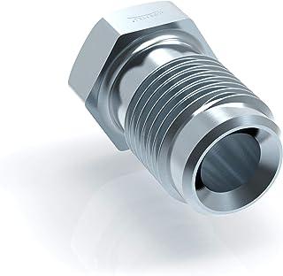 4x Raccord m/âle M10 x 1 pour Tuyau de Frein 4,75 mm /évasure double type E Connecteur de Freinage Type D DIN//ISO 1651