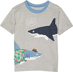 Sharp Dressed Shark Graphic Tee (Toddler/Little Kids/Big Kids)
