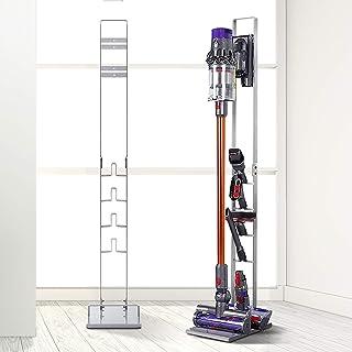 Freestanding Dyson Vacuum Stand Rack Holder Accessories Docking Handheld Stick Vacuum Cleaner for Dyson V6 V7 V8 V10 Silver