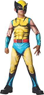 Rubies Marvel Universe Classic Collection Wolverine Costume, Child Large