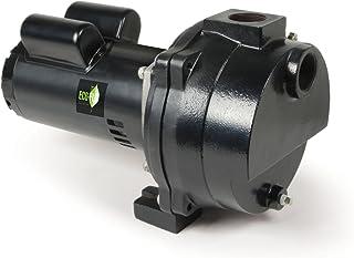 ECO-FLO Products EFLS20 Cast Iron Self-Priming Irrigation Pump, 2 HP, 70 GPM