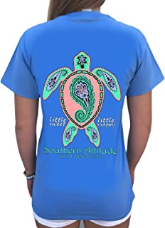 Paisley Sea Turtle Carolina Blue Women's Short Sleeve T-Shirt