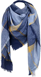 Best blue and yellow tartan scarf Reviews