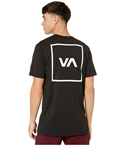 RVCA Sport Box Short Sleeve T-Shirt (Black 1) Men