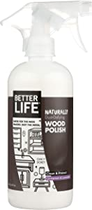 Better Life Natural Oak-y-Dokey Wood Cleaner and Polish Cinnamon and Lavender, 16 Oz, 16 Fluid Ounce