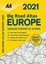 Big Road Atlas Europe 2021