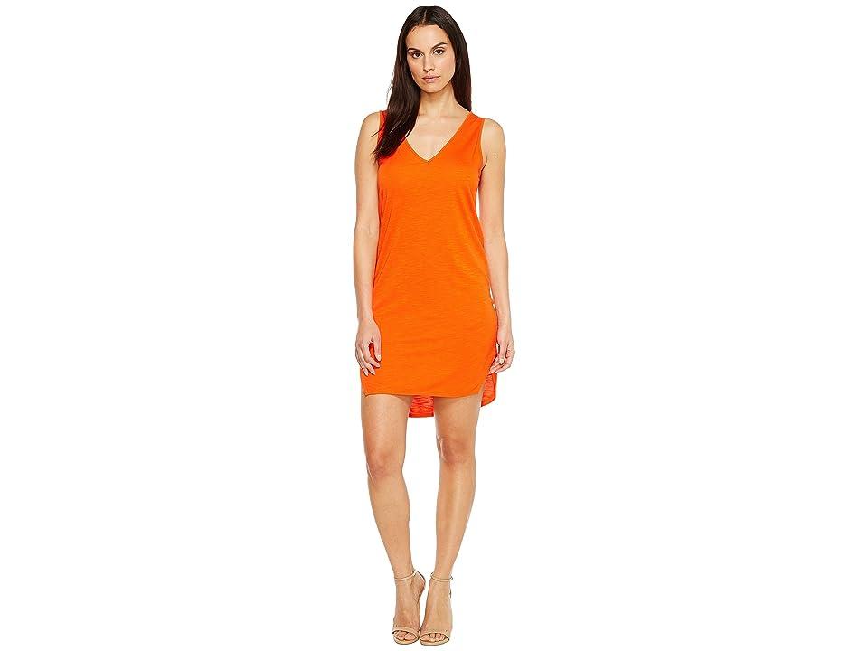 Lanston V-Neck Tank Dress (Poppy) Women