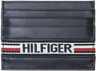 TOMMY HILFIGER Hilfiger Tape Cc Holder Mens Wallet Navy